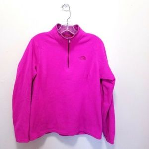The North Face Women's Fleece Pullover pink A1-34